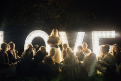 light up love sign