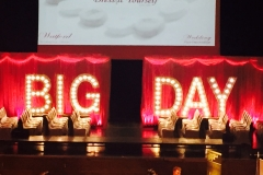 BIG DAY light up sign