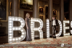 light up letters goodwood house brides magazine party