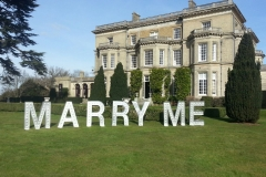 light up marry me sign