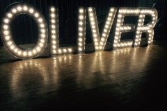 light up letters oliver